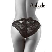Aubade惹火-蝴蝶結綁帶三角褲P027