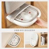 折疊足浴盆泡腳桶家用自動按摩電動加熱恒溫足浴盆QM『艾麗花園』