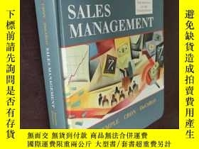 二手書博民逛書店SALES罕見MANAGEMENT Eighth edition