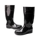 雨鞋高筒勞保帶鋼頭防砸雨靴防滑防水耐酸堿超大碼男水鞋39-48碼 快速出貨