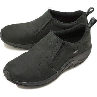 MERRELL 男款 JUNGLE MOC GORE-TEX® 低筒旅遊休閒鞋 - 黑色 ML42301