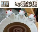 可愛掛貓  咖啡杯 調皮貪吃小貓咪裝飾品...