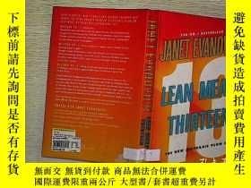 二手書博民逛書店LEAN罕見MEAN THIRTEEN (A3)Y203004