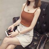 XL-3XL背心吊帶打底針織衫上衣25092新款大碼女裝修身顯瘦無袖背心打底針織衫上衣愛尚布衣
