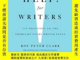 二手書博民逛書店Help!罕見For WritersY255562 Roy Peter Clark Little, Brown