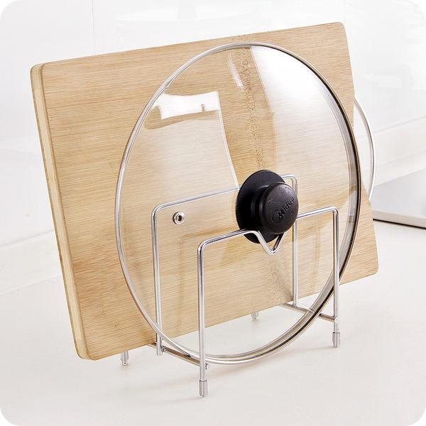 3層 不鏽鋼 便利鍋蓋架 鍋蓋座 砧板架 廚房收納架 簡易廚房置物架 瀝水架 碟架 碗盤架 鍋具架