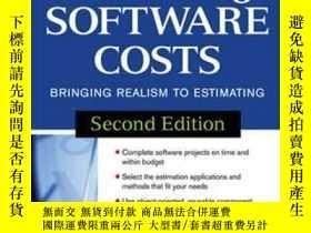 二手書博民逛書店Estimating罕見Software CostsY255562 Jones, Capers Mcgraw-