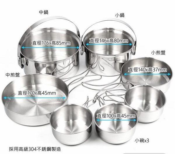3-4人不鏽鋼輕便套鍋 採304不鏽鋼製造 質地堅硬 耐高溫 導熱快 節省燃料 KS-34 犀牛品牌