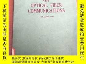 二手書博民逛書店5th罕見topical meeting on optical fiber communications(P302