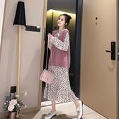 兩件套網紅洋氣時尚套裝裙女寬鬆連衣裙韓版春秋潮很仙的新款 瑪麗蘇