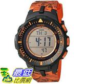 [美國直購] 手錶 Casio Mens PRG-300CM-4CR Pro Trek Solar-Powered Watch with Orange Band