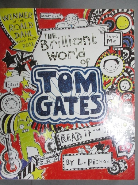 【書寶二手書T1/原文小說_JAU】Brilliant World of Tom Gates_Liz Pichon