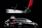 SUBARU FORESTER三菱colt plus coltplus Mitsubishi sx4鯊魚鰭天線短天線可參考改裝天線
