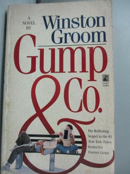 【書寶二手書T3/原文小說_IMM】Gump & Co_Winston Groom