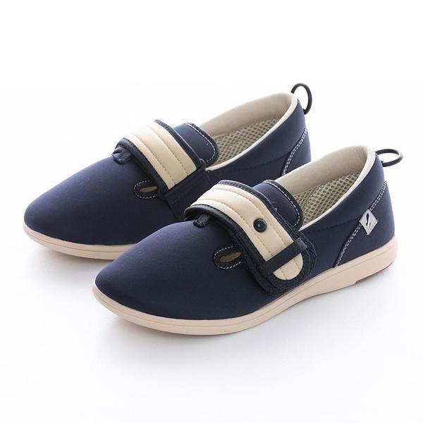 【南紡購物中心】Pastel介護鞋  藍色