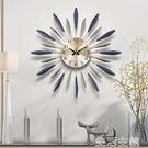 掛鐘 掛鐘鐘錶掛鐘客廳創意現代簡約時鐘個性大氣家用時尚裝飾藝術北歐掛鐘 MKS生活主義
