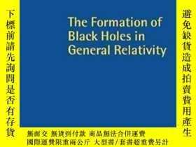二手書博民逛書店The罕見Formation Of Black Holes In