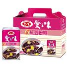 愛之味蒟蒻紅豆粉粿340g*12入(禮盒裝)【合迷雅好物超級商城】
