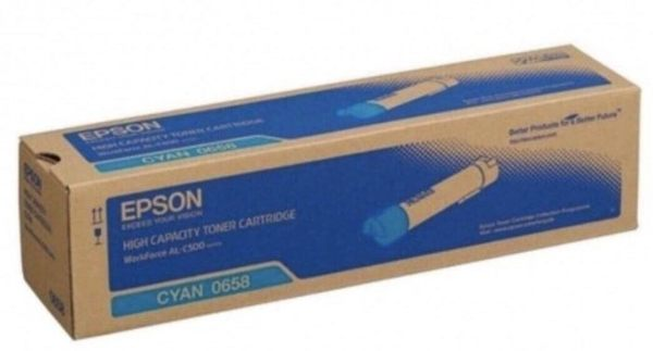 S050658 EPSON 原廠高容量青色碳粉匣 適用 AcuLaser C500DN