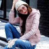 工廠批發價不退換大量現貨防風保暖2018新款棉服女韓版修身連帽棉衣羽絨服外套(1056A)依菲公主