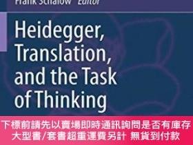 二手書博民逛書店Heidegger,罕見Translation, And The Task Of ThinkingY25517