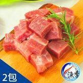 【漁季】台灣一口鮮嫩骰子豬*2(200G±10%/包)