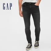 Gap男裝深色水洗五口袋牛仔褲539112-磨白黑色
