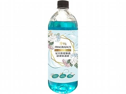 秀香 夏日防疫驅蟲清潔防護液(1000ml)【小三美日】