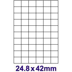 【奇奇文具】【裕德 Unistar 電腦標籤】UH2542 電腦列印標籤紙/三用標籤/60格 (100張/盒)