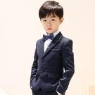 兒童西裝男套裝英倫風小西服男童鋼琴演出服禮服婚禮花童 快速出貨