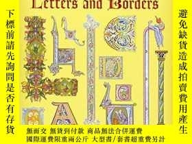 二手書博民逛書店Masterpieces罕見Of Illuminated Letters And BordersY256260