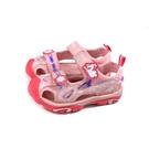 冰雪奇緣 Frozen 雪寶 護趾涼鞋 蜜桃粉 中童 童鞋 FNKT14113 no769