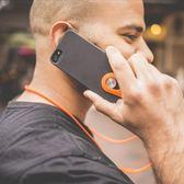 時尚手機掛繩 iPhone掛脖手機吊繩硅膠防丟掛鍊手機通用 酷動3C城
