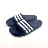 男款ADIDAS DURAMO SLIDE 超輕量防水運動拖鞋《7+1童鞋》7001寶藍色