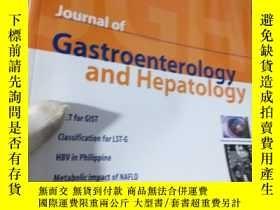 二手書博民逛書店Journal罕見of Gastroenterology and
