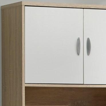 米勒高四門廚房櫃 採E1板材