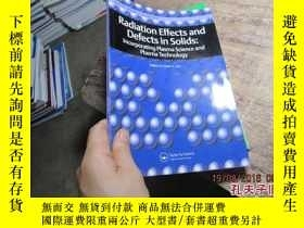 二手書博民逛書店radiation罕見effects and defects i