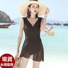 泳衣來福,G372泳衣文愛連身泳衣二件式游泳衣泳裝M-2XL正品,售價980元