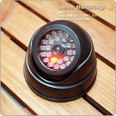☆樂樂購☆鐵馬星空☆紅色LED小型偽裝式半圓型監視器/吸頂半球攝影機/安全/偽裝* (E06-008)
