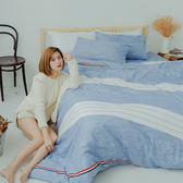 [SN]#U093#細磨毛天絲絨6x6.2尺雙人加大床包被套四件組-台灣製