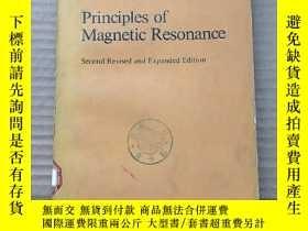 二手書博民逛書店principles罕見of magnetic resonance(P597)Y173412