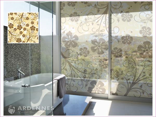 【ARDENNES】防水壁貼 壁紙 牆貼 / 磨砂面 亮面 / 玻璃透明貼紙 GS-022