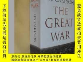二手書博民逛書店英文原版罕見The Great War by Les Carlyon附 照片Y7215 Les Carlyon