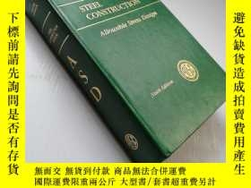 二手書博民逛書店Manual罕見of STEEL CONSTRUCTION Al