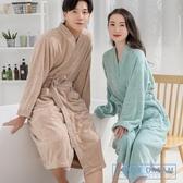 浴袍男 五星級酒店浴袍純棉毛巾料男女士成人加厚吸水速干全棉長款浴衣IL HD