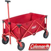 Coleman CM-21989 懷舊四輪露營拖車 野餐車/菜籃車 公司貨