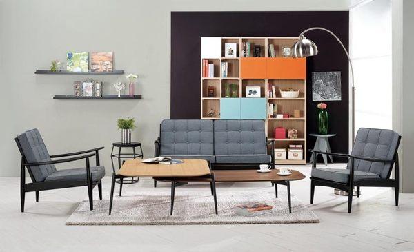 8號店鋪 森寶藝品傢俱 a-01 品味生活 沙發系列 708-1 艾卡爾休閒沙發全組(1+1+2)(不含茶几)