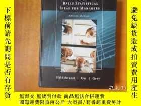 二手書博民逛書店Basic罕見Statistical Ideas for Managers, 2nd Edition (with