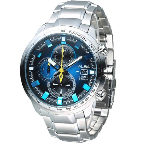 ALBA 玩轉星際計時腕錶 VK67-X010B AV6063X1