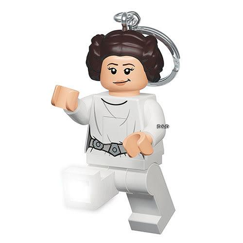 【 樂高積木 LEGO 】星際大戰 - 莉亞公主鑰匙圈燈╭★ JOYBUS玩具百貨
